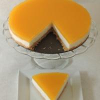 Nepečená tvarohovo-pomarančová torta