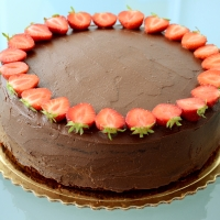 Mascarpone-banánovo-nutellová torta
